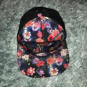 Floral/Space Vans Hat